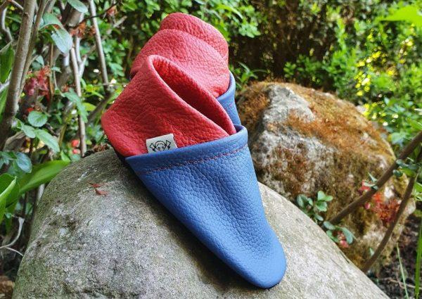 kapcie niemowlęce niebieskie